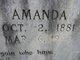 Amanda A. <I>Garner</I> Blackstock