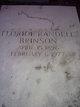 """Profile photo:  Floride Pearson """"Tote"""" <I>Randell</I> Brinson"""
