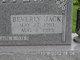 Beverly Jack Stauffer