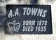 Profile photo:  A A Towns