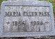 """Maria Ellen """"Marie"""" <I>Short</I> Pask"""