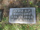 Lydia A.P. <I>Parks</I> Whitcomb