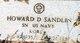 Howard D Sandlin