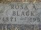 Profile photo:  Rosa Annabell <I>Hughes</I> Black
