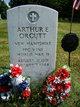 PFC Arthur E Orcutt