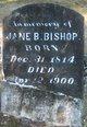 Profile photo:  Jane B. Bishop
