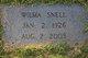 Jessie Wilma <I>Durham</I> Snell