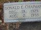 Donald Edwin Chapman