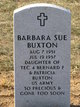 Profile photo:  Barbara Sue Buxton