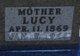 Profile photo:  Lucy Abigail <I>McClure</I> Adair