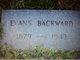 Evans Backward