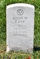 Profile photo:  John W Cave