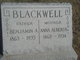 Profile photo:  Anna Alberta <I>Dowell</I> Blackwell