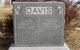 Martha A <I>Satterthwaite</I> Davis