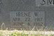 Irene Willie <I>Renfroe</I> Smith