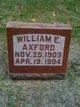 Profile photo:  William E. Axford