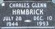 Charles Glenn Hambrick