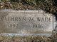 Kathryn M <I>Walker</I> Wade