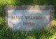 Profile photo:  Bessie D <I>Devon</I> Williamson