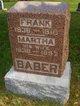 Martha <I>Robinson</I> Baber