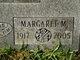 Margaret M. <I>Weaver</I> Howard