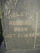 Violet A <I>Hodges</I> Robbins