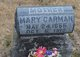 Profile photo:  Mary Carmon