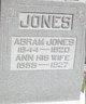 Profile photo:  Anna <I>Jones</I> Jones