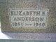 Elizabeth E <I>Anderson</I> Jones