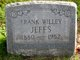 Frank Willey Jeffs
