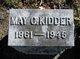 May C Kidder