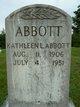 Profile photo:  Kathleen L. <I>Butler</I> Abbott