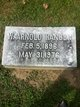 Profile photo:  William Arnold Hanger