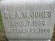 Dr Anderson W Jones