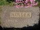Emma Martha <I>Anderson</I> Hansen