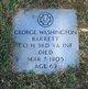 Pvt. George Washington Barrett