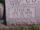 Profile photo:  Effie May <I>Friend</I> Cosby