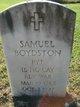 Pvt Samuel Boydston