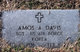 "Profile photo:  Amos A. ""Bill"" Davis"