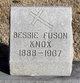 Profile photo:  Bessie <I>Fuson</I> Knox
