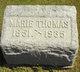Mary Marie <I>Klein</I> Thomas