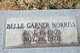 Profile photo:  Belle <I>Garner</I> Norriss
