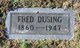 Fred Dusing