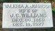 Valeria A <I>Johnson</I> Williams