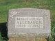 Profile photo:  Bessie Louise <I>Grandstaff</I> Allebaugh