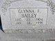 Glynna F. Rumfelt <I>Hall</I> Bailey