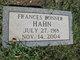 Frances <I>Bonner</I> Hahn