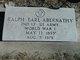 Ralph Earl Abernathy