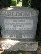 Profile photo:  Bertha <I>Herzog</I> Bloom