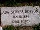 Profile photo:  Ada <I>Stokes</I> Rosson